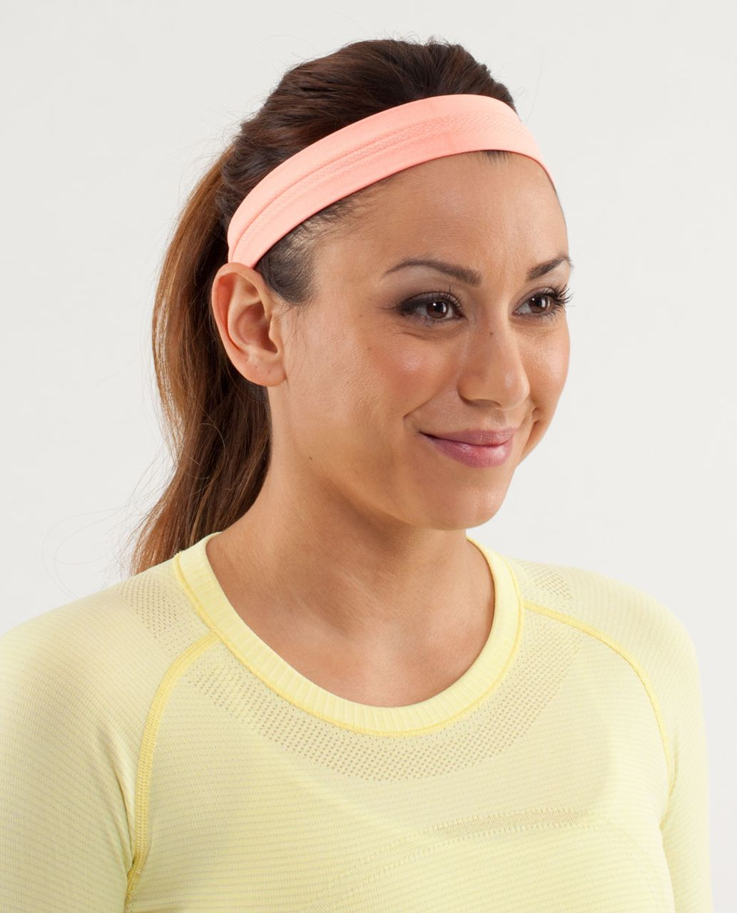 b567f8a7 Lululemon Swiftly Headband - Pop Orange - lulu fanatics