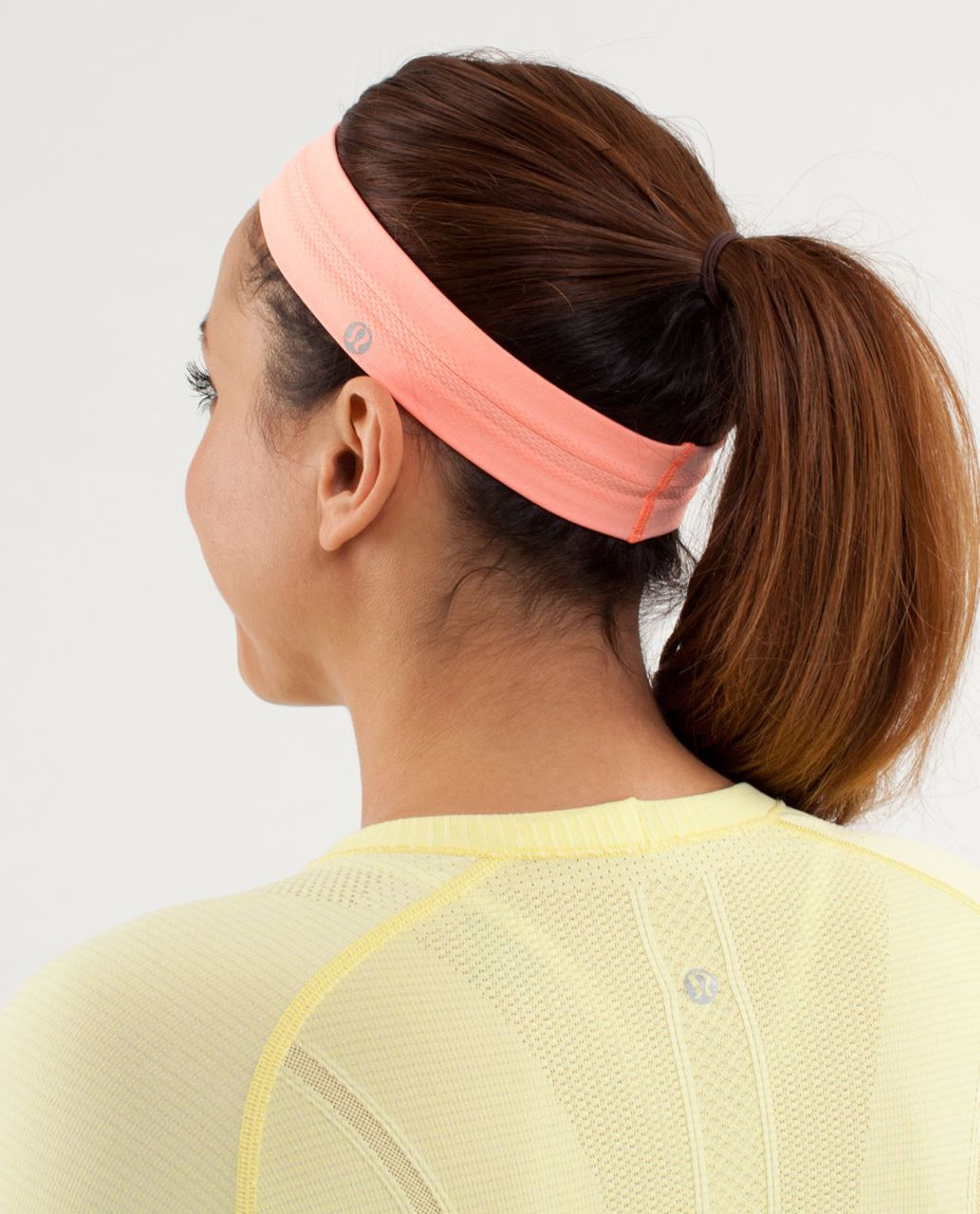 Lululemon Swiftly Headband - Pop Orange