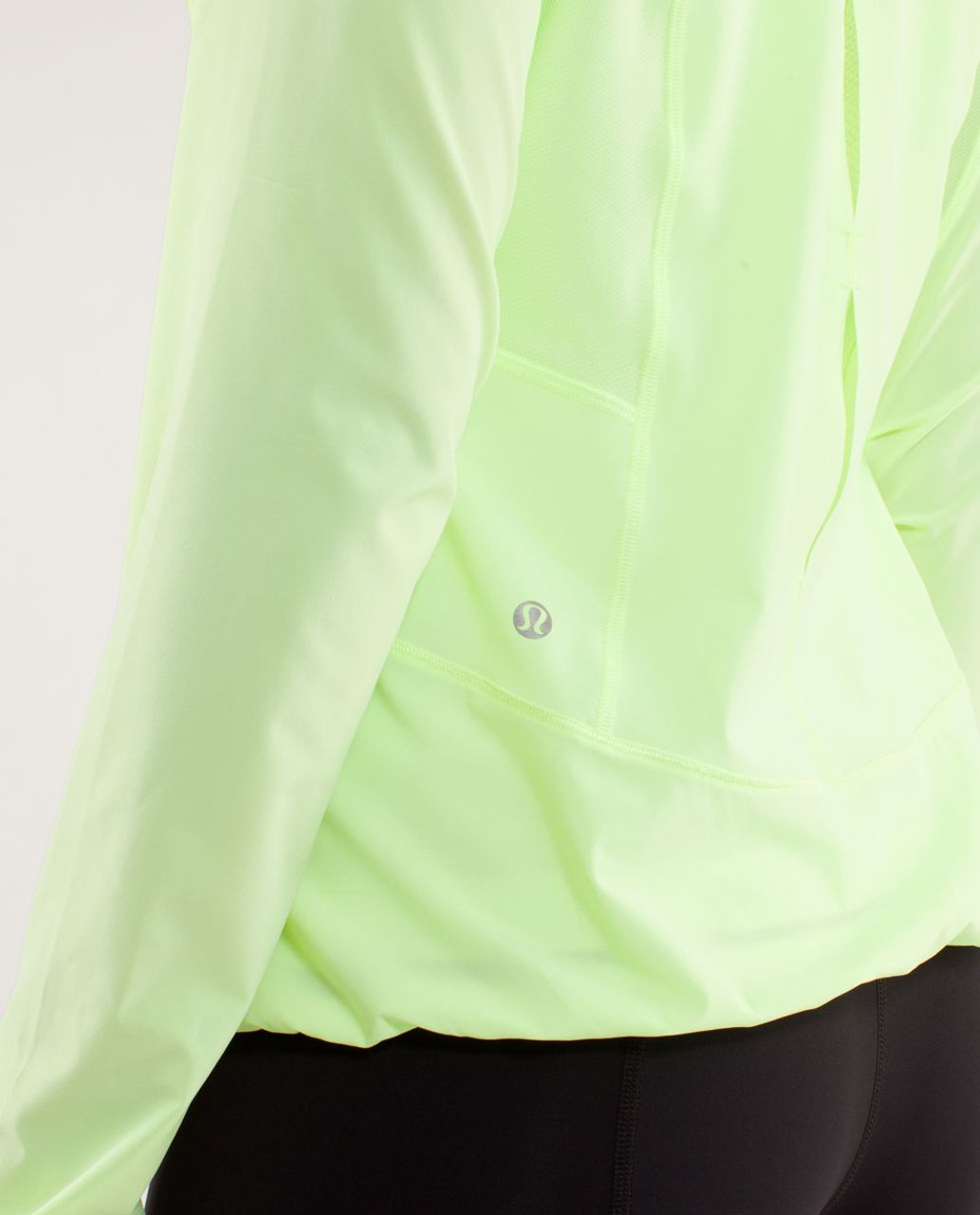 Lululemon Run:  Stash & Dash Pullover - Faded Zap