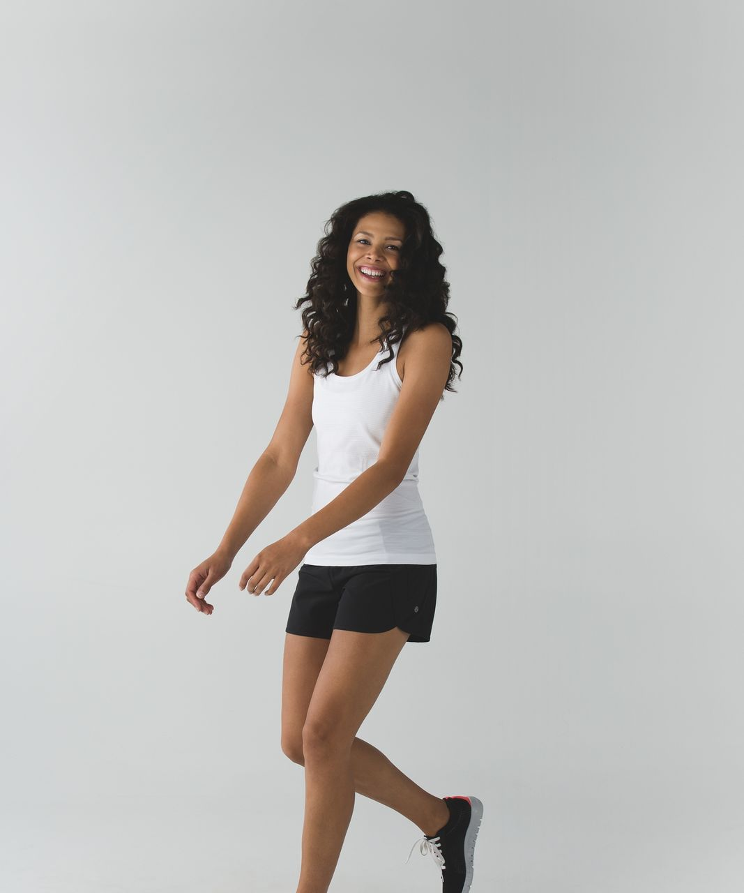 Lululemon Run Times Short *4-way Stretch - Black