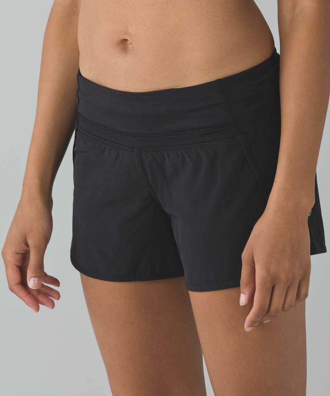 Lululemon Run Times Short *4-way Stretch - Black