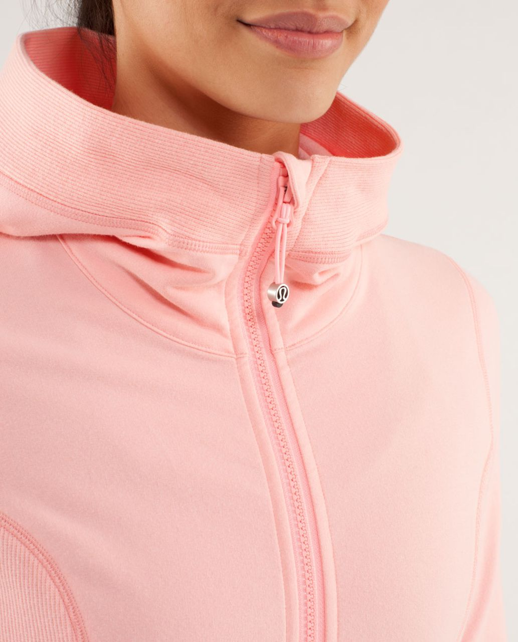 Lululemon Throw Me Over Hoodie - Bleached Coral