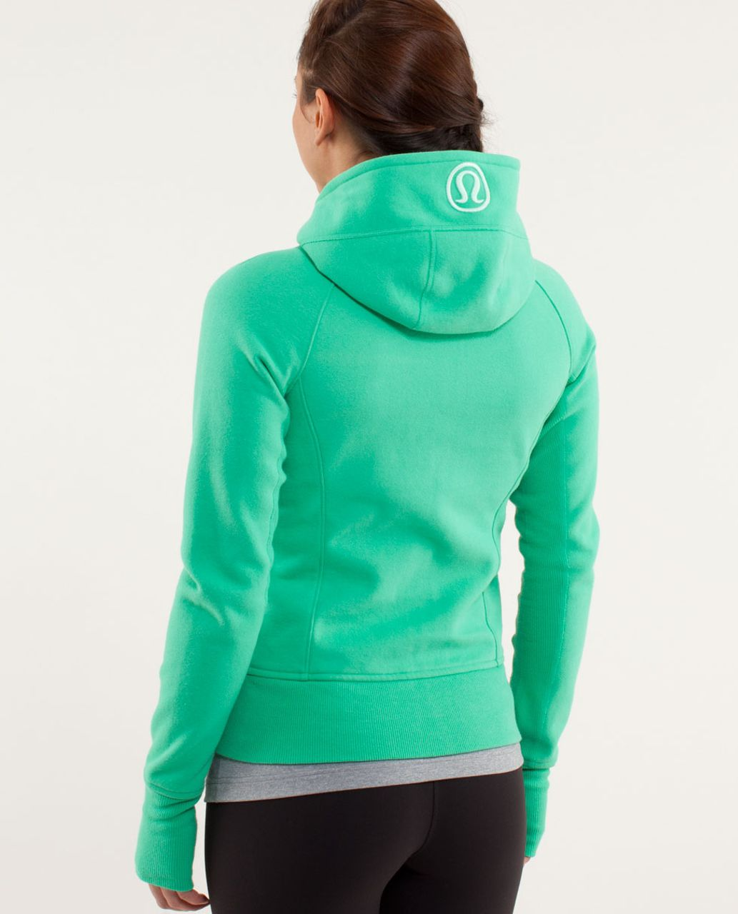 Lululemon Scuba Hoodie *Stretch (Lined Hood) - Very Green