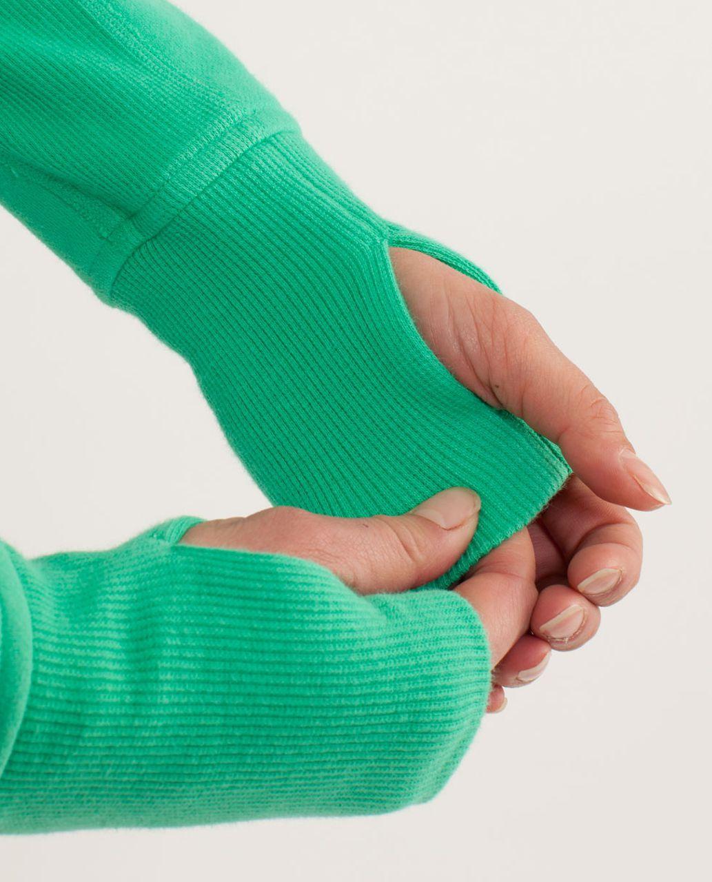 Lululemon Scuba Hoodie *Stretch (Lined Hood) - Very Green