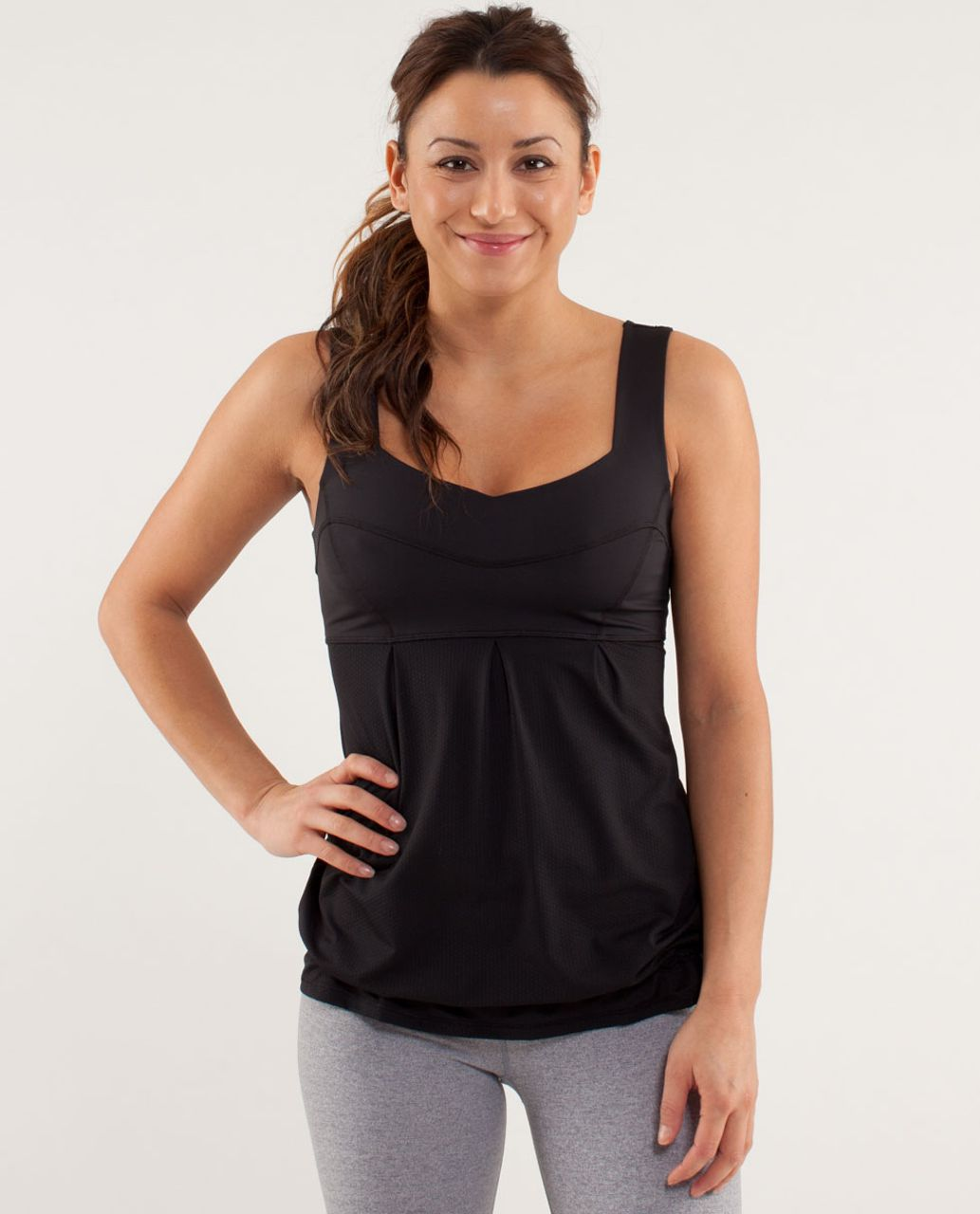 Lululemon Run:  Tame Me Tank - Black