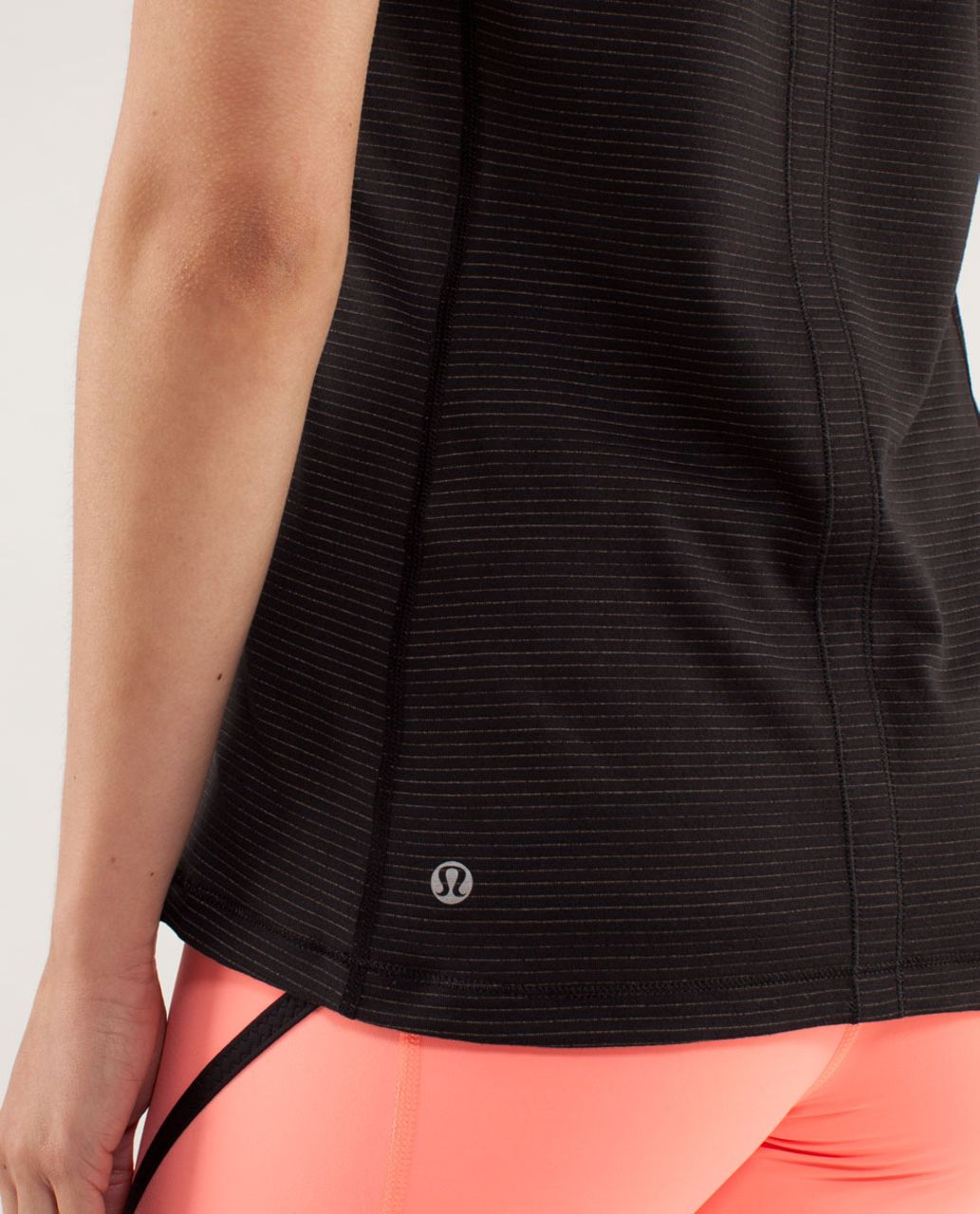 Lululemon Run:  Turn It Up Tee - Black