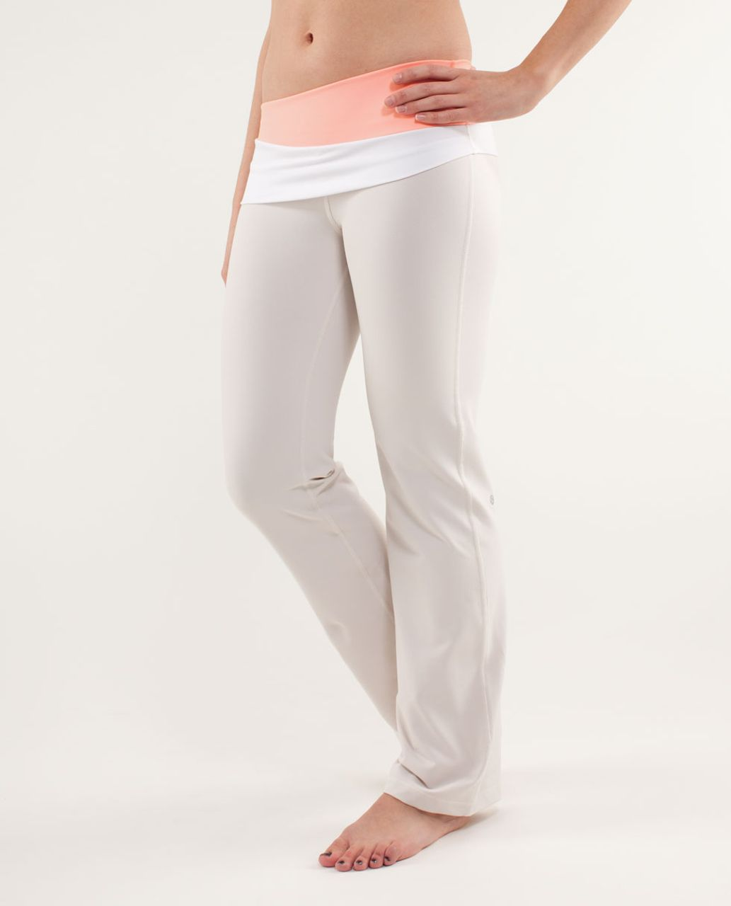 Lululemon Astro Pant (Regular) - Dune / Bleached Coral / White
