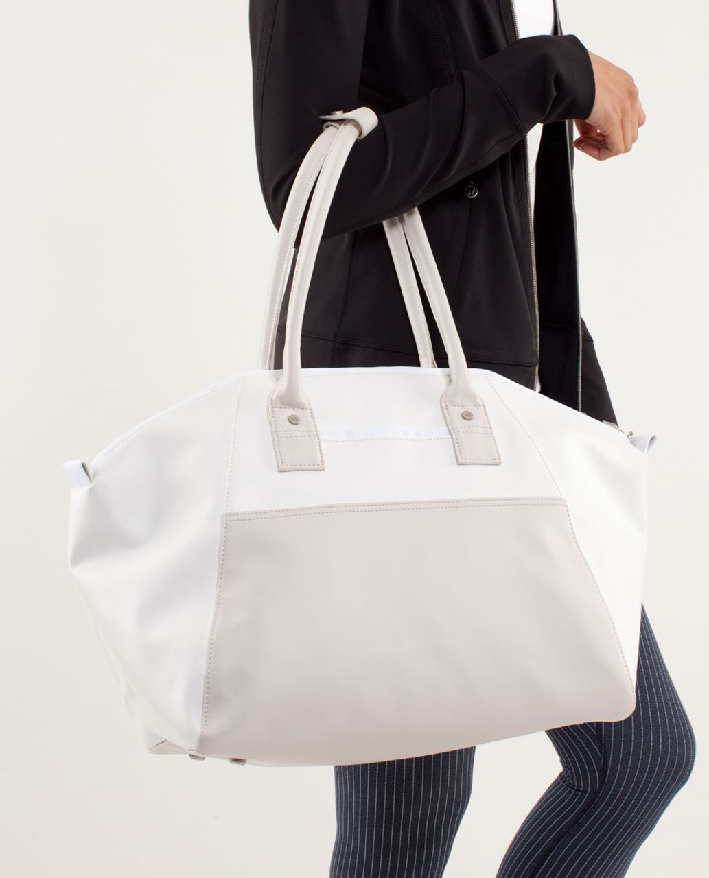 Lululemon Vinyasa To Vino Bag - White / Dune