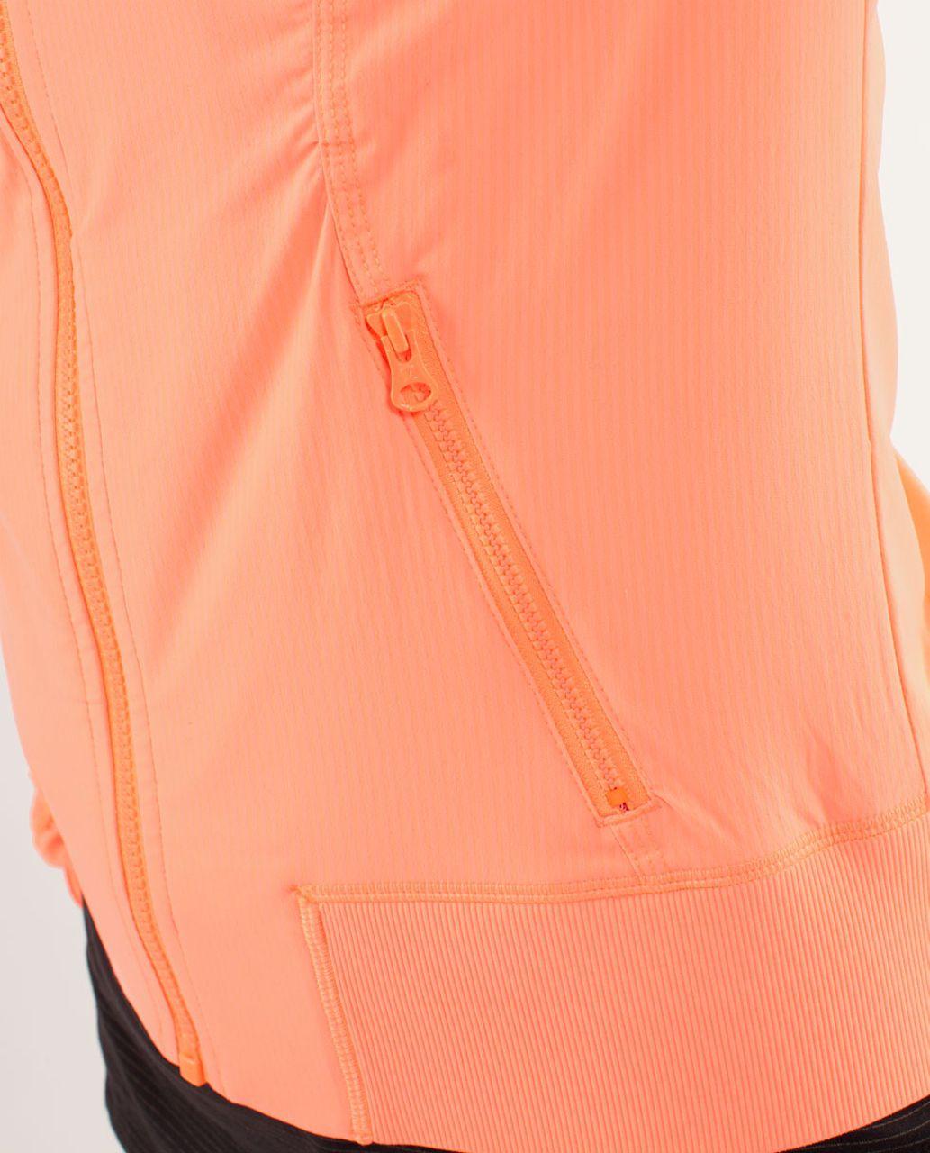 Lululemon Street To Studio Jacket - Pop Orange