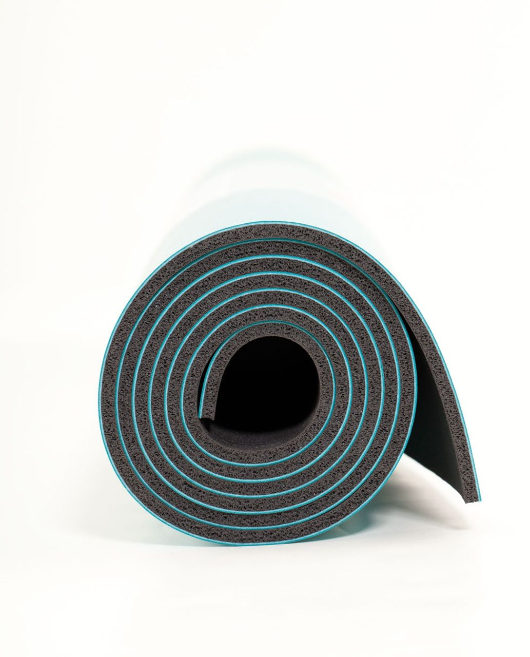 Lululemon The Mat - Peacock Blue / Black