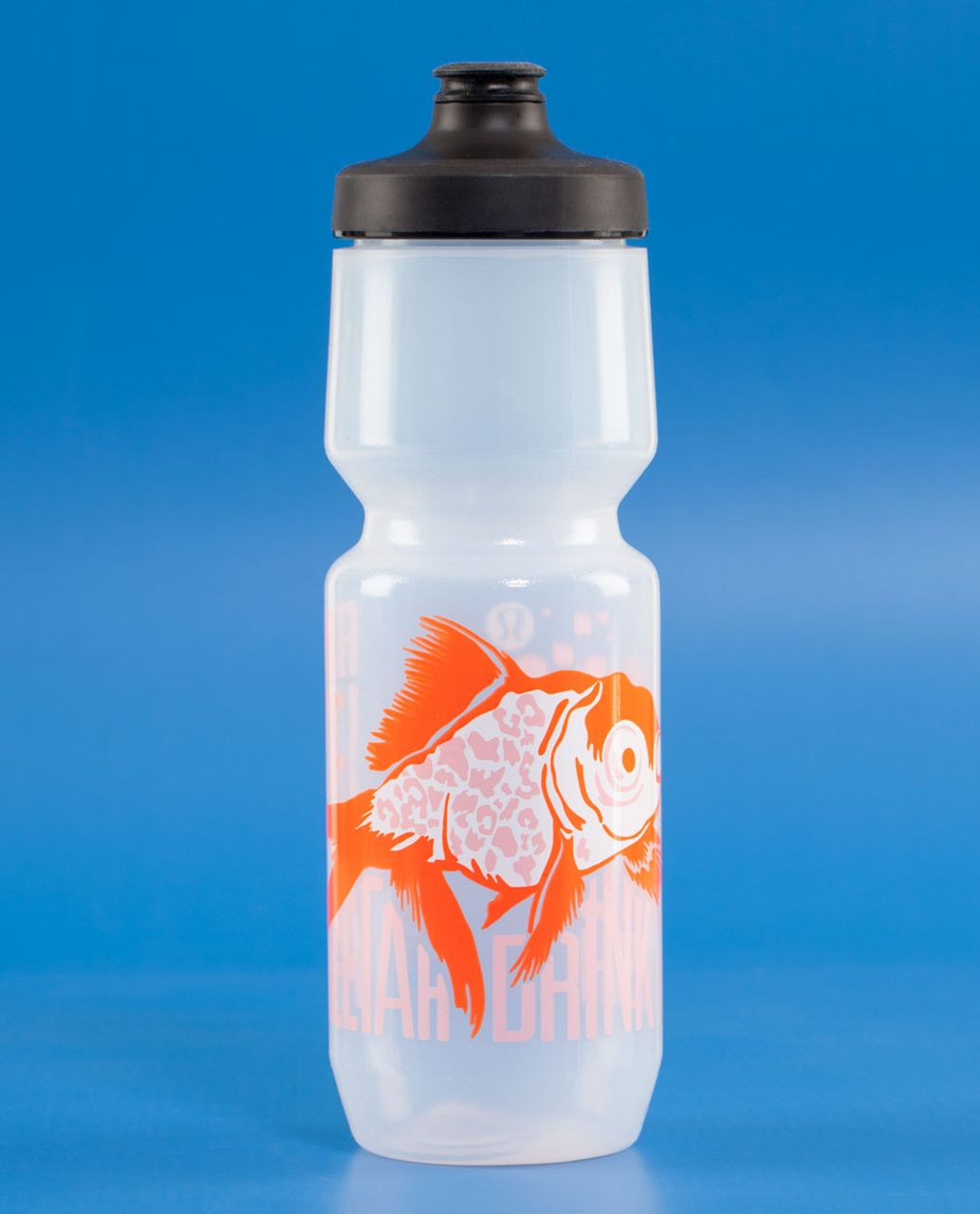 Lululemon Purist Cycling Water Bottle II - Run Like A Cheetah Pop Orange