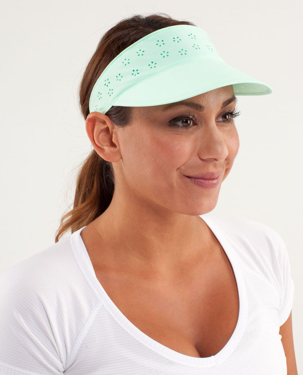 Lululemon Shady Lady Run Visor - Fresh Teal