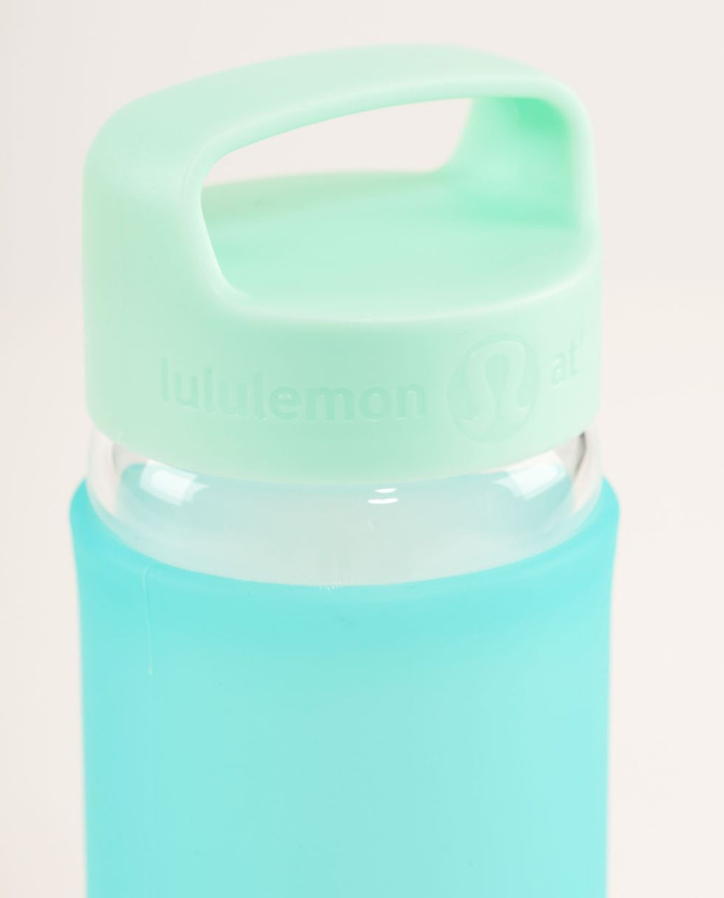 Lululemon Pure Balance Water Bottle - Peacock Blue / Sea Mist