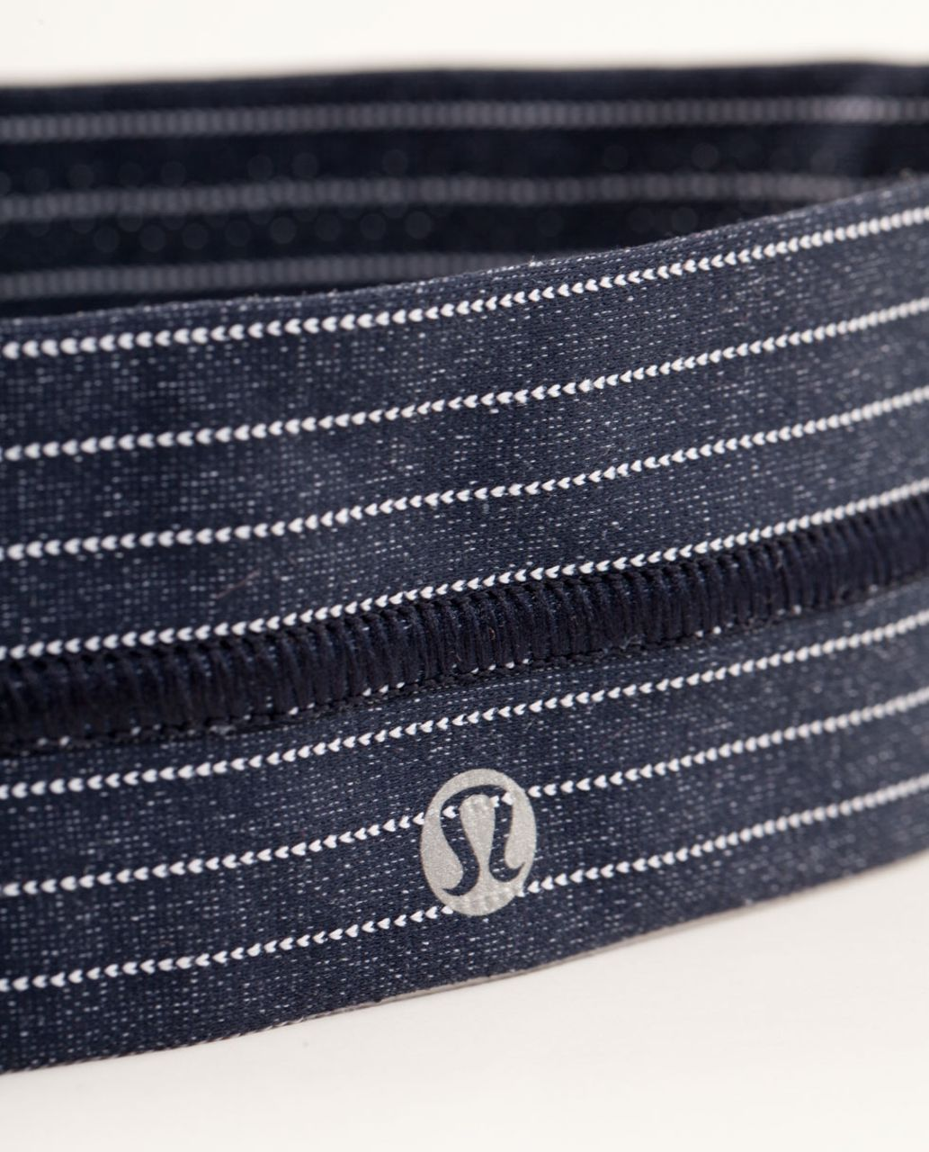 Lululemon Fly Away Tamer Headband *Pinstripe - Inkwell