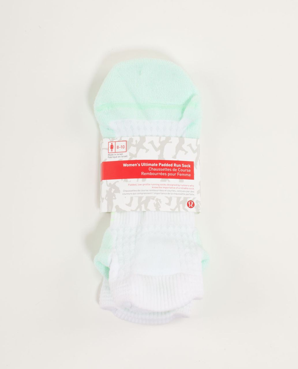 Lululemon Women's Ultimate Padded Run Sock - Fresh Teal