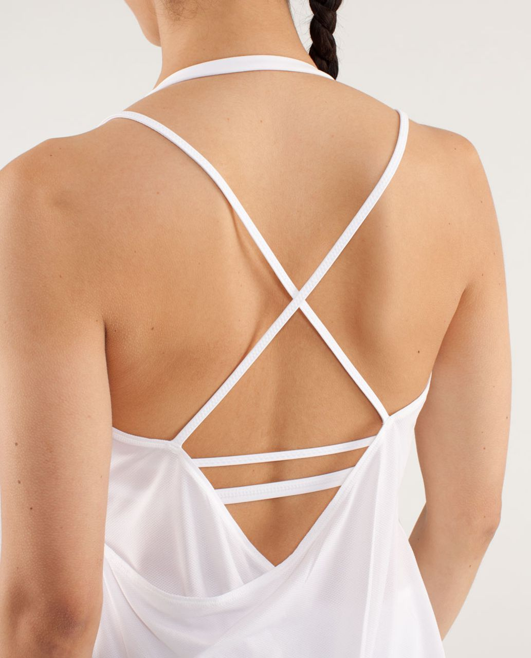 Lululemon Flow And Go Tank II - White