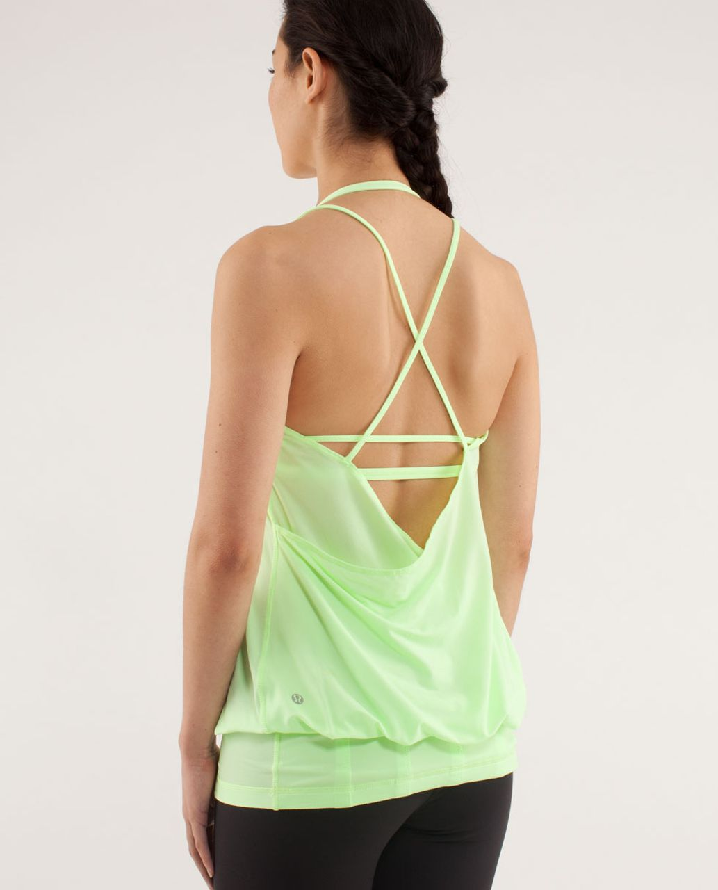 Lululemon Flow And Go Tank II - Faded Zap