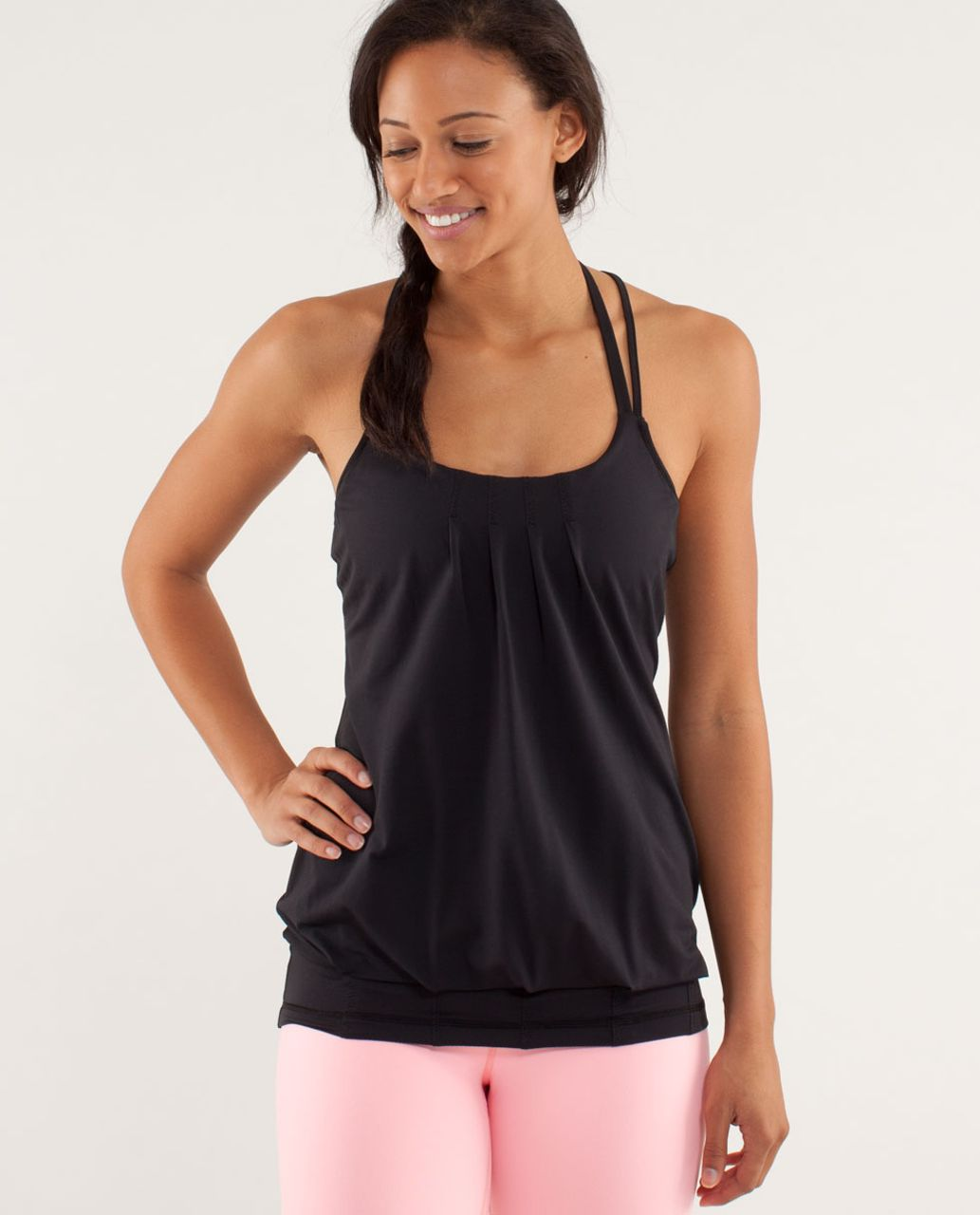 Lululemon Flow And Go Tank II - Black