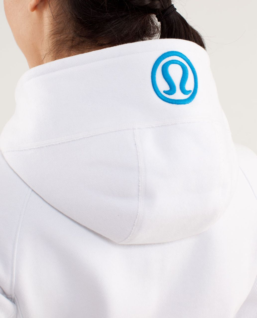 Lululemon Scuba Hoodie *Stretch (Lined Hood) - White