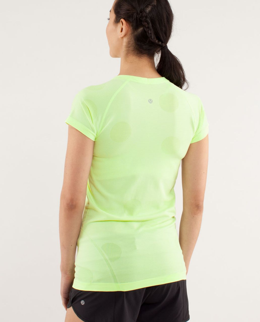 Lululemon Run:  Swiftly Tech Short Sleeve - Faded Zap