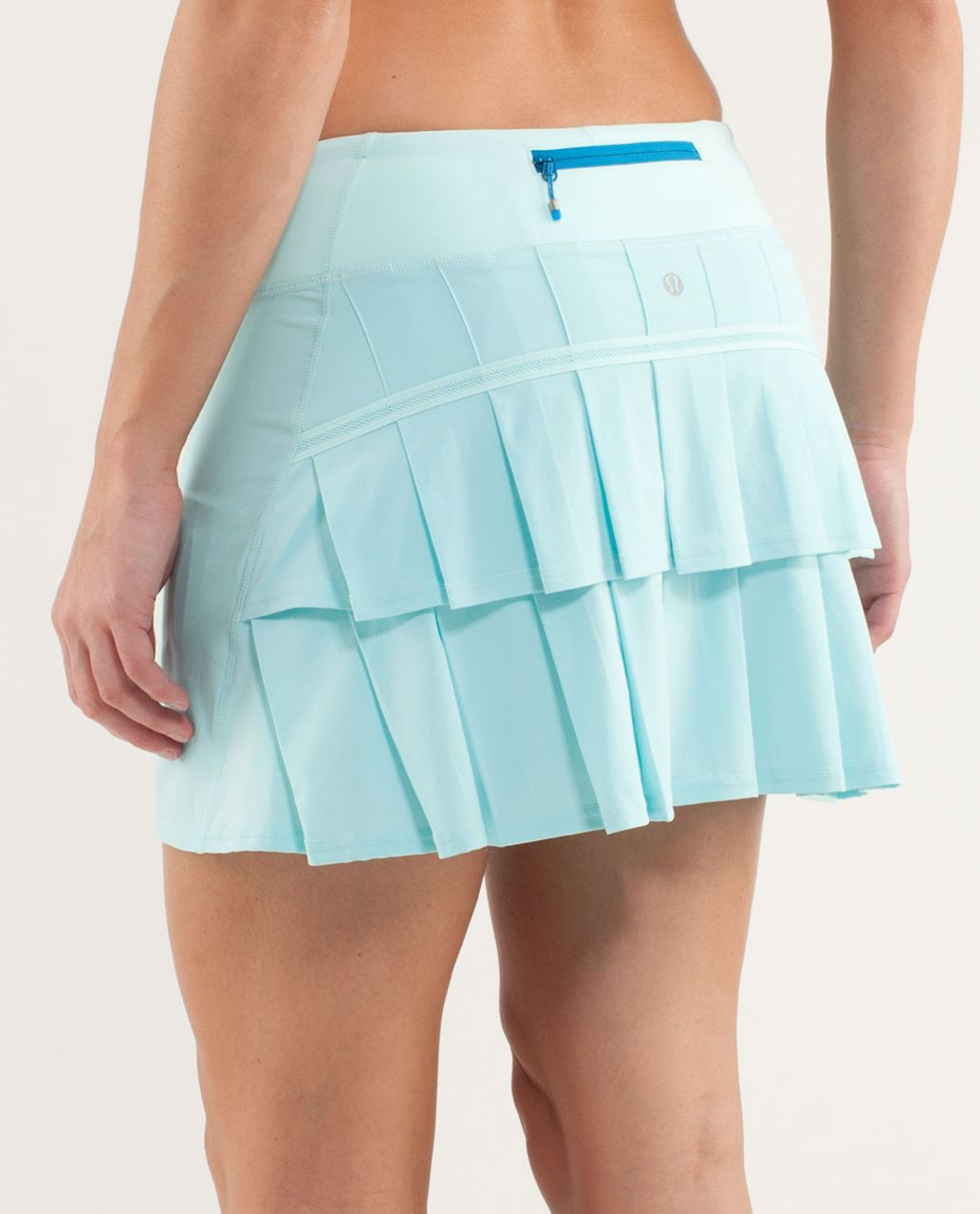 Lululemon Run:  Pace Setter Skirt (Tall) - Aquamarine