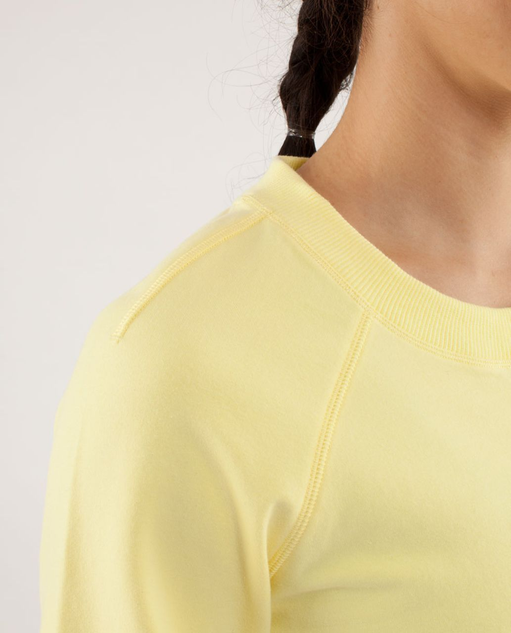 Lululemon Rejuvenate Pullover - Mellow Lemon