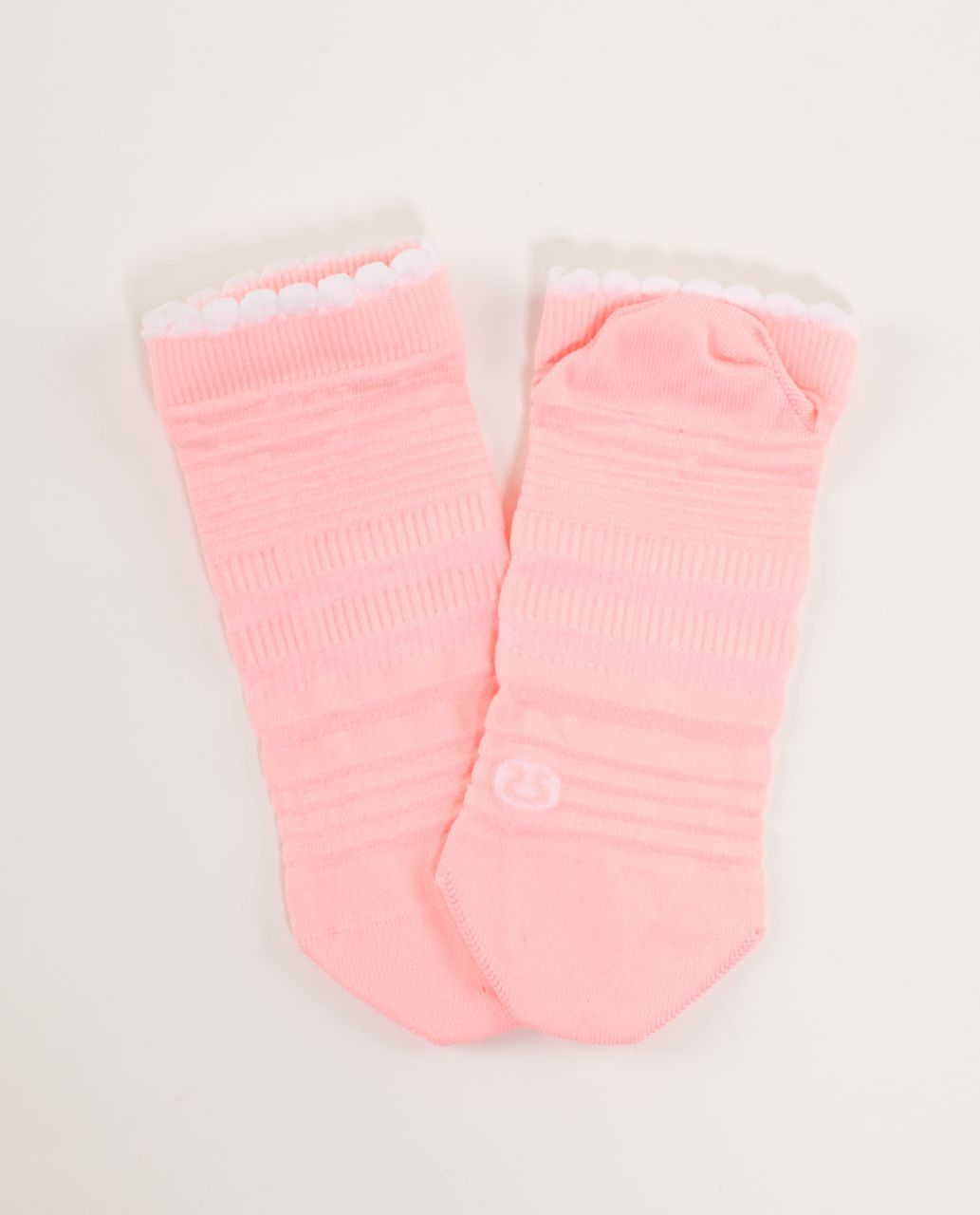 Lululemon Run For Ice Cream Sock - Strawberry Sundae Bleached Coral
