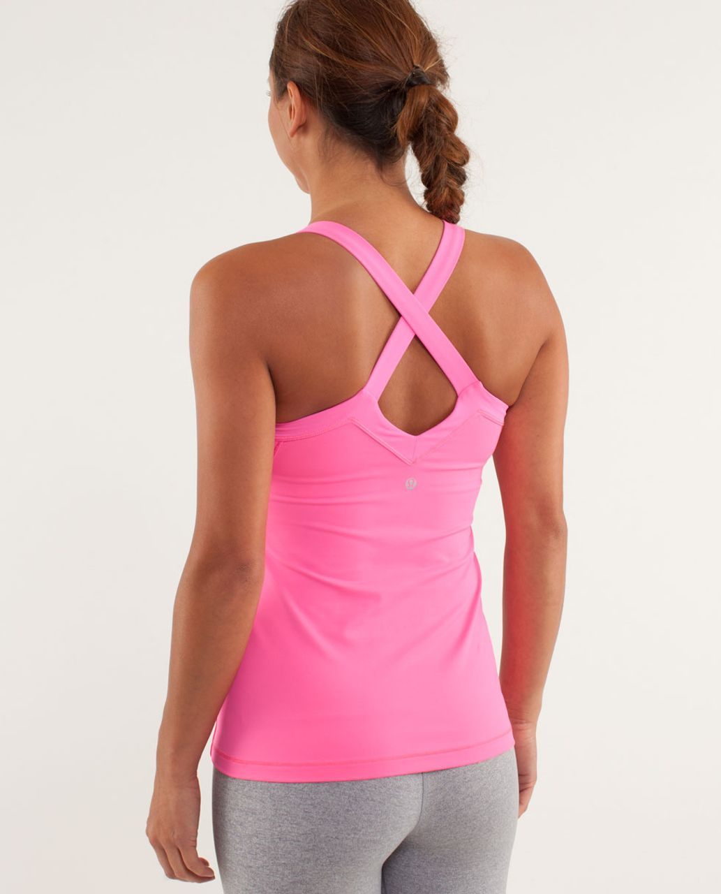 Lululemon Run:  Mile A Minute Tank - Pinkelicious