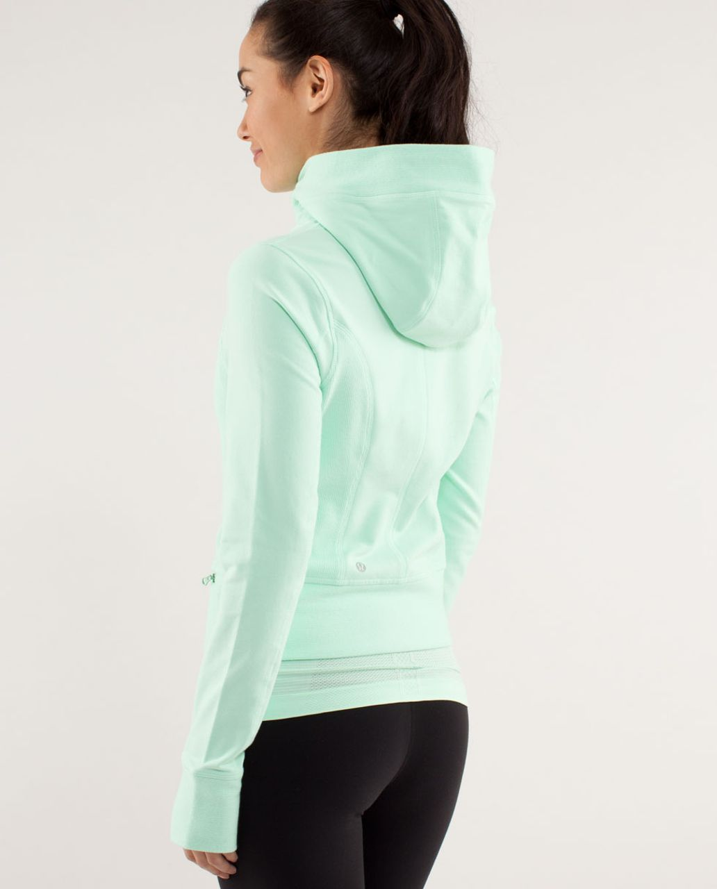 Lululemon Throw Me Over Hoodie - Fresh Teal