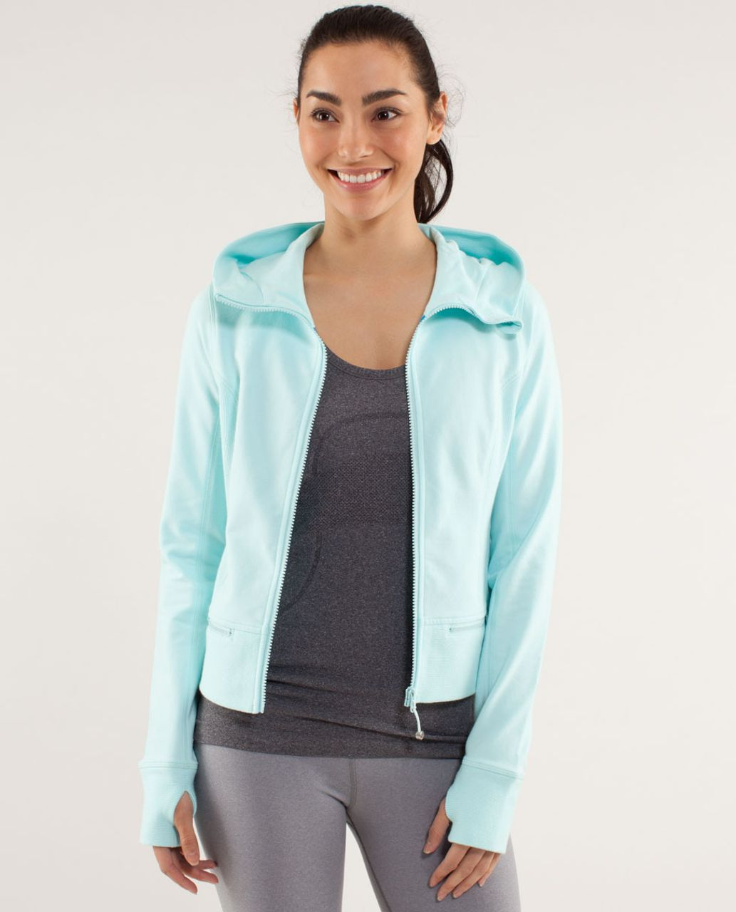 Lululemon Throw Me Over Hoodie - Aquamarine