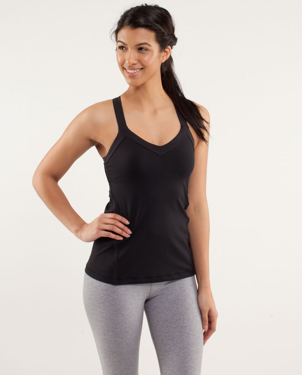 Lululemon Run:  Mile A Minute Tank - Black