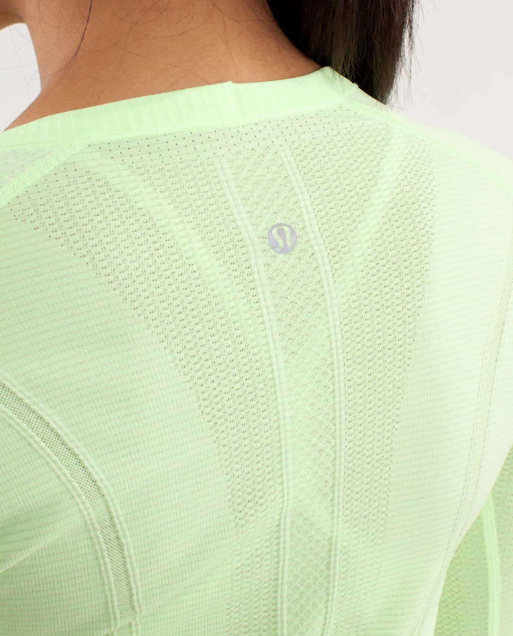 Lululemon Run:  Swiftly Tech Long Sleeve - Faded Zap