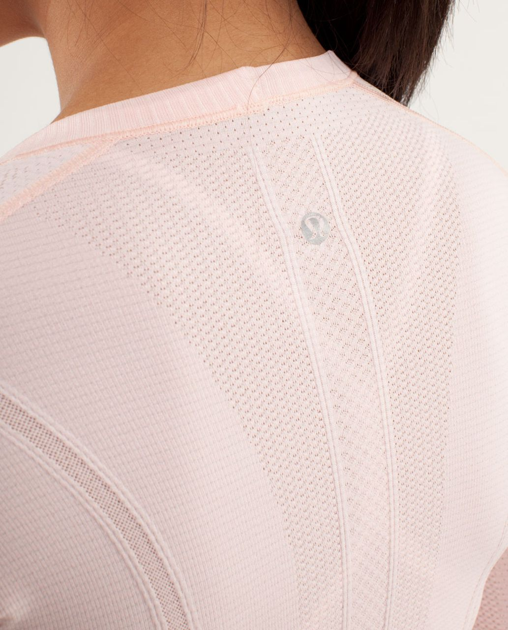 Lululemon Run:  Swiftly Tech Long Sleeve - Parfait Pink