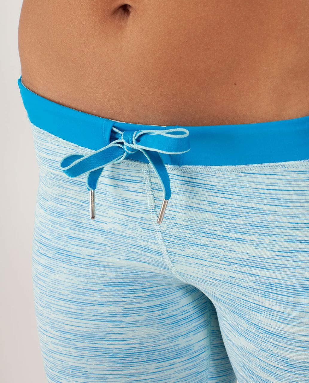 Lululemon Beach Runner Crop - Wee Are From Space Aquamarine / Beach Blanket Blue / Aquamarine