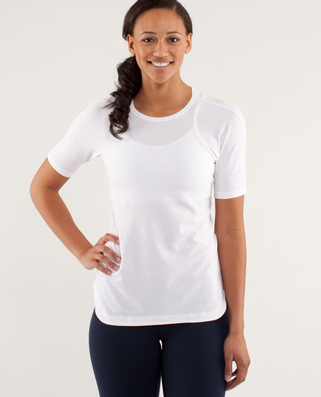 Lululemon Clari-Tee Short Sleeve - White