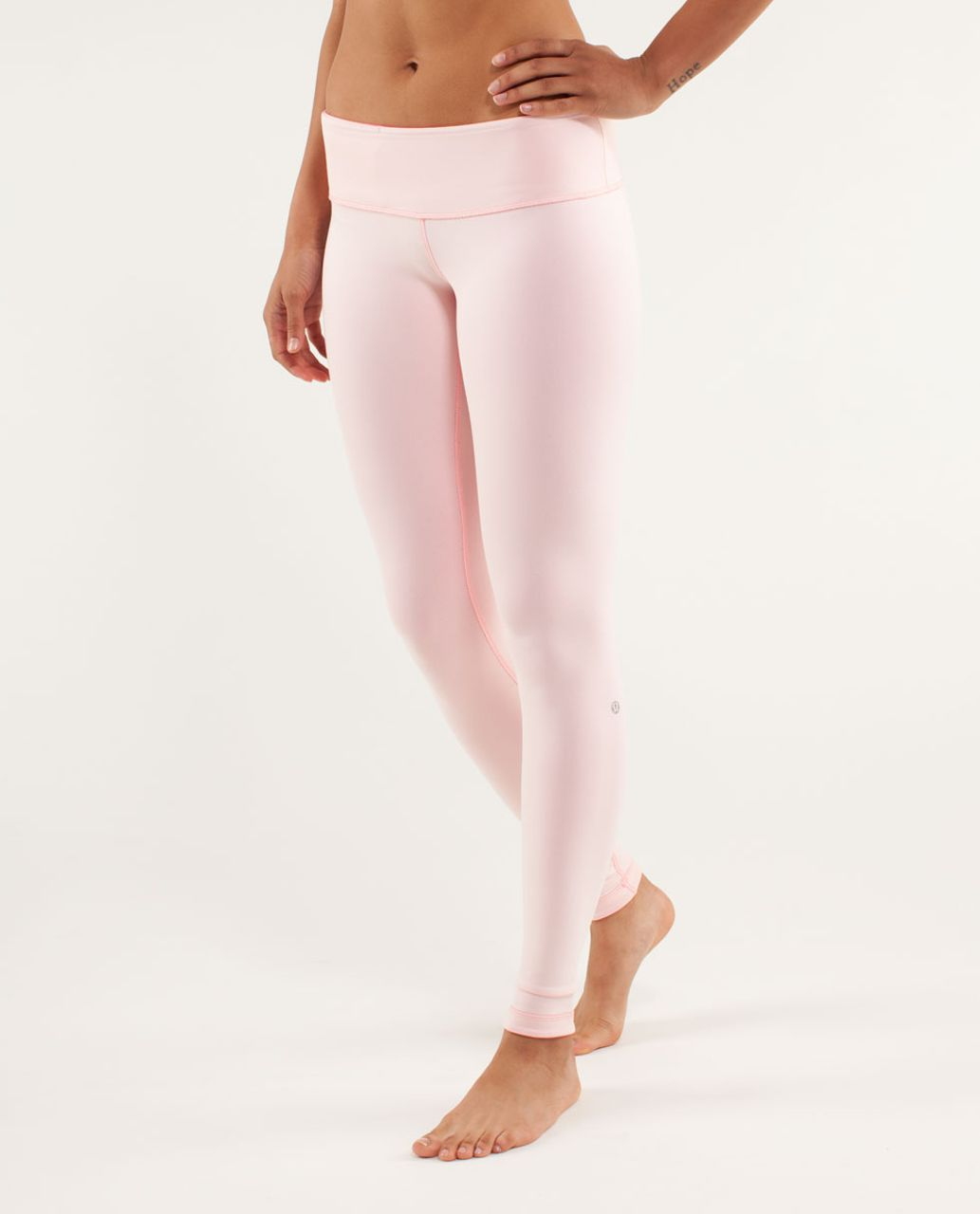Lululemon Wunder Under Pant *Reversible - Parfait Pink / Pinkelicious