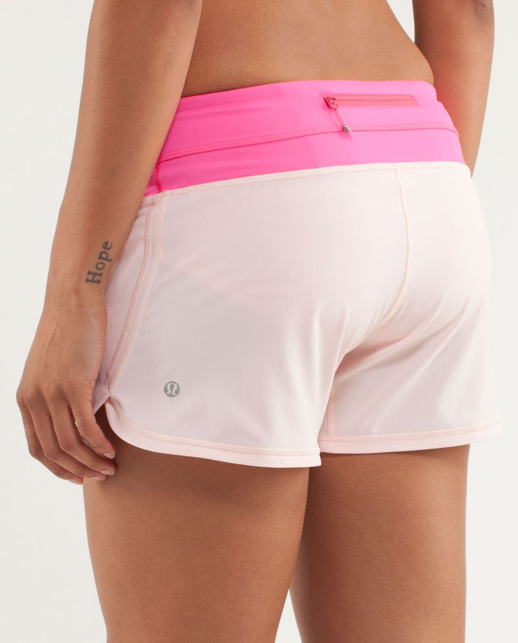 Lululemon Groovy Run Short - Parfait Pink / Pinkelicious