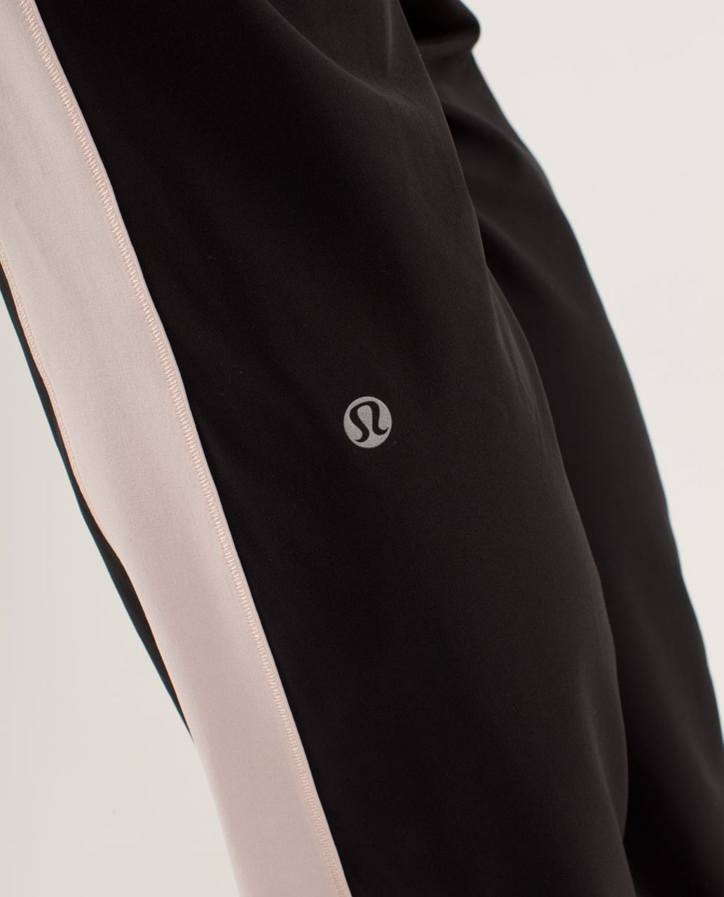 Lululemon Work It Out Track Pant - Black / Parfait Pink