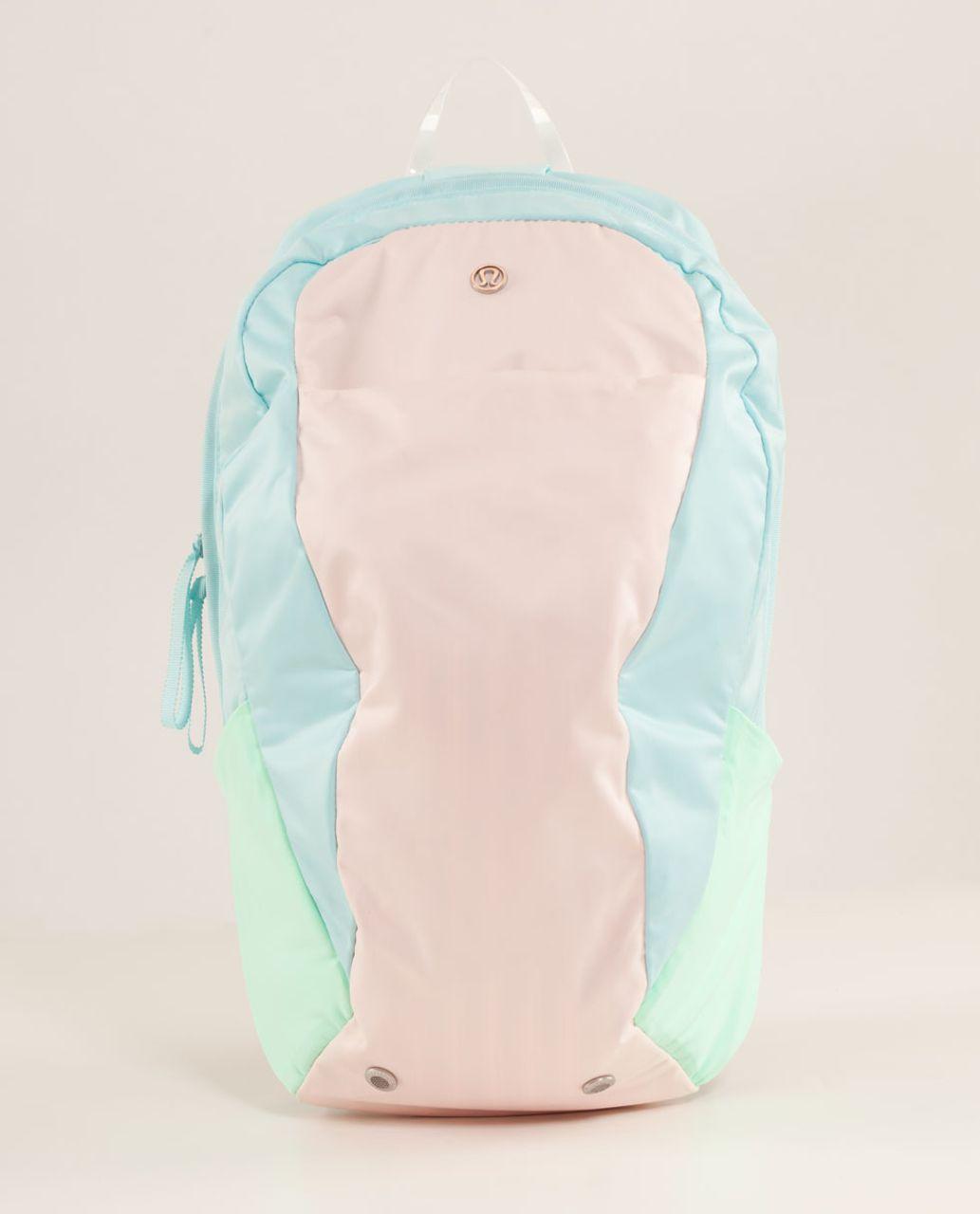 Lululemon Run From Work Backpack II - Parfait Pink / Aquamarine
