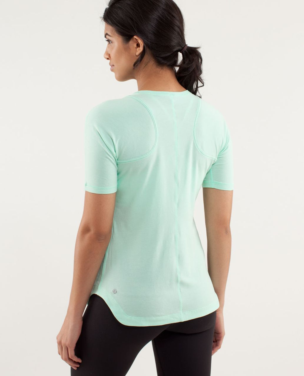 Lululemon Clari-Tee Short Sleeve - Fresh Teal