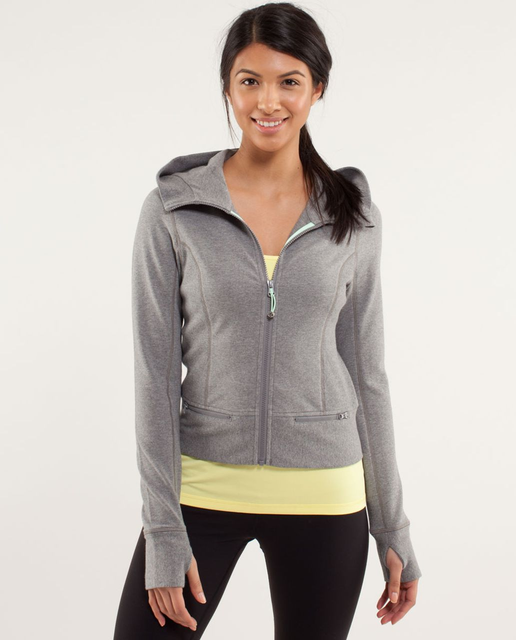 Lululemon Throw Me Over Hoodie - Vintage Sports Grey
