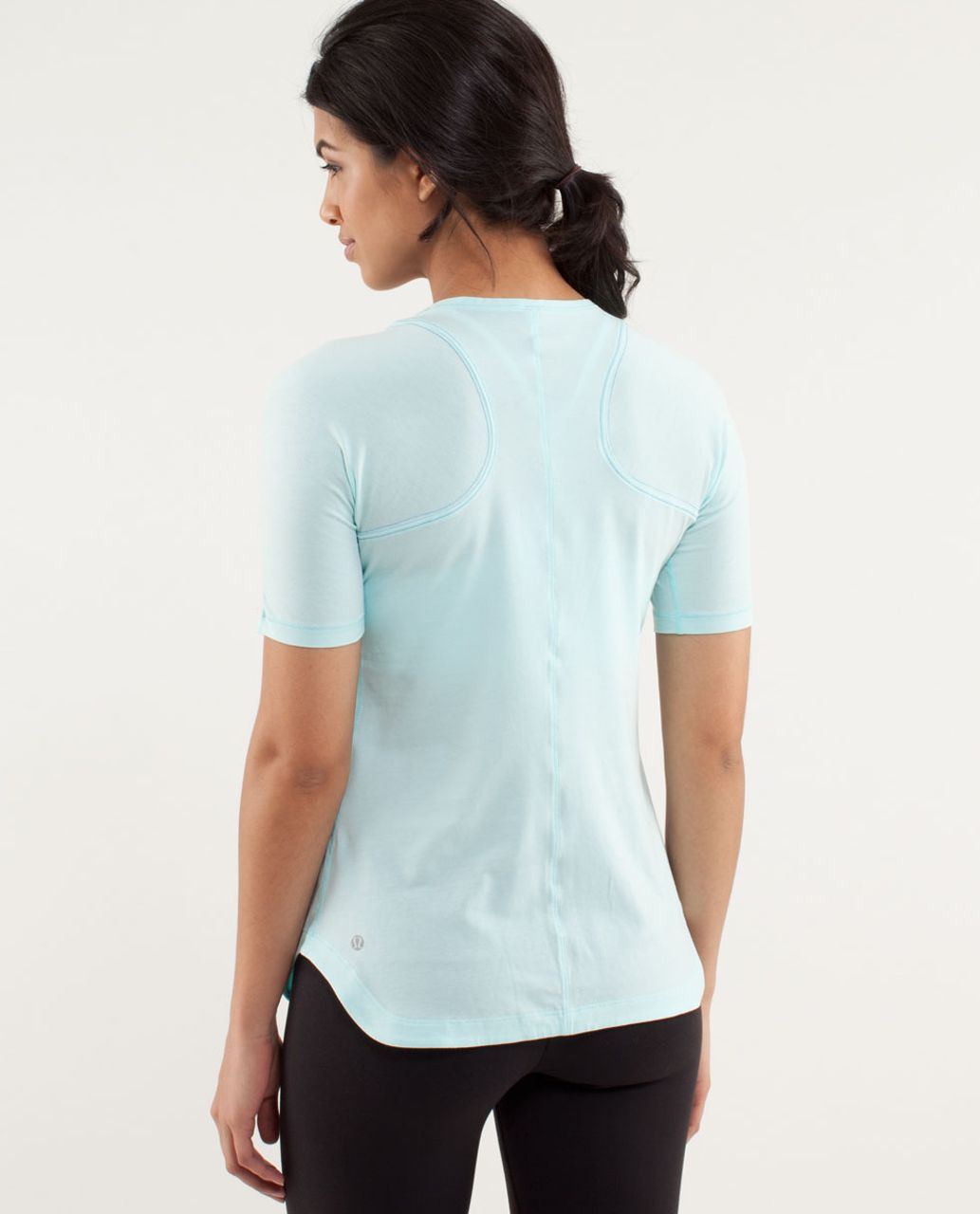 Lululemon Clari-Tee Short Sleeve - Aquamarine