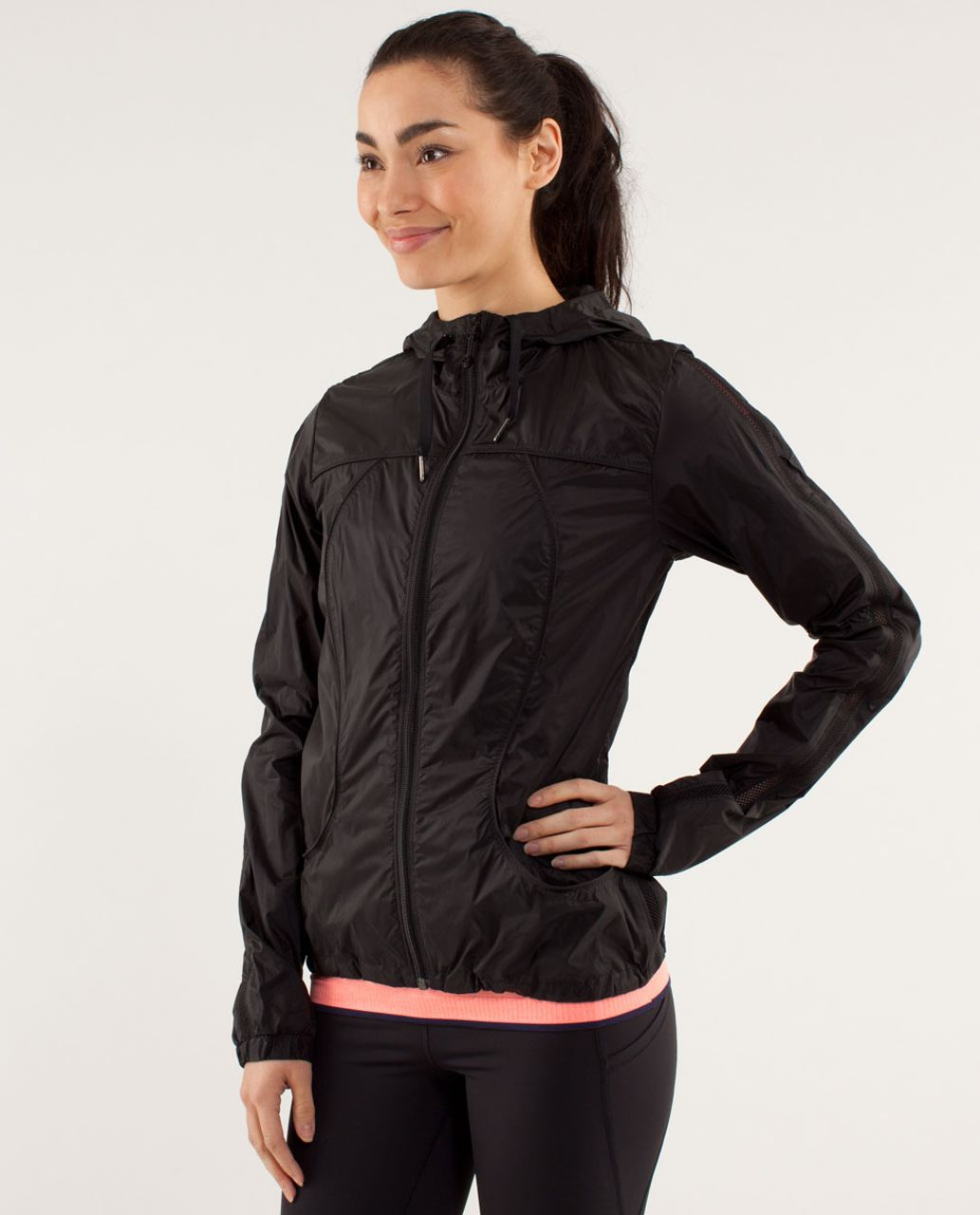 Lululemon Transparent-See Jacket - Black