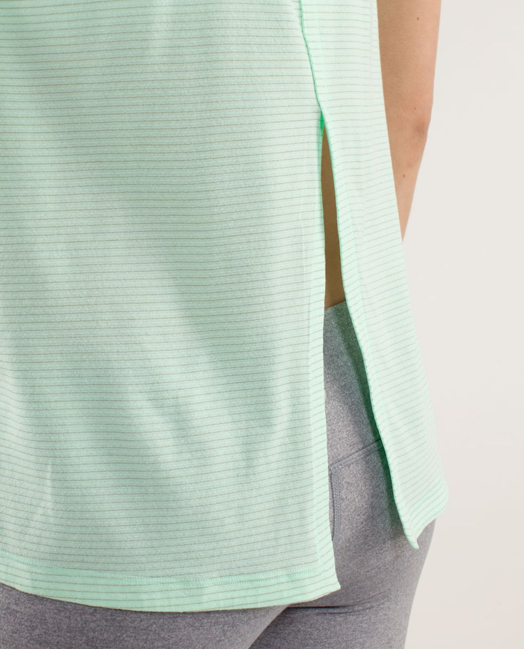 Lululemon Run:  Silver Lining Tank - Fresh Teal