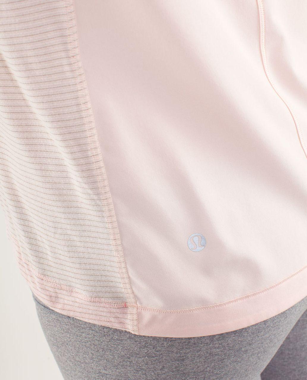 Lululemon Run:  Silver Lining Long Sleeve - Parfait Pink / Pinkelicious
