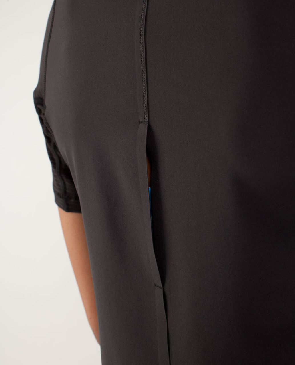 Lululemon Run:  Silver Lining Short Sleeve - Black