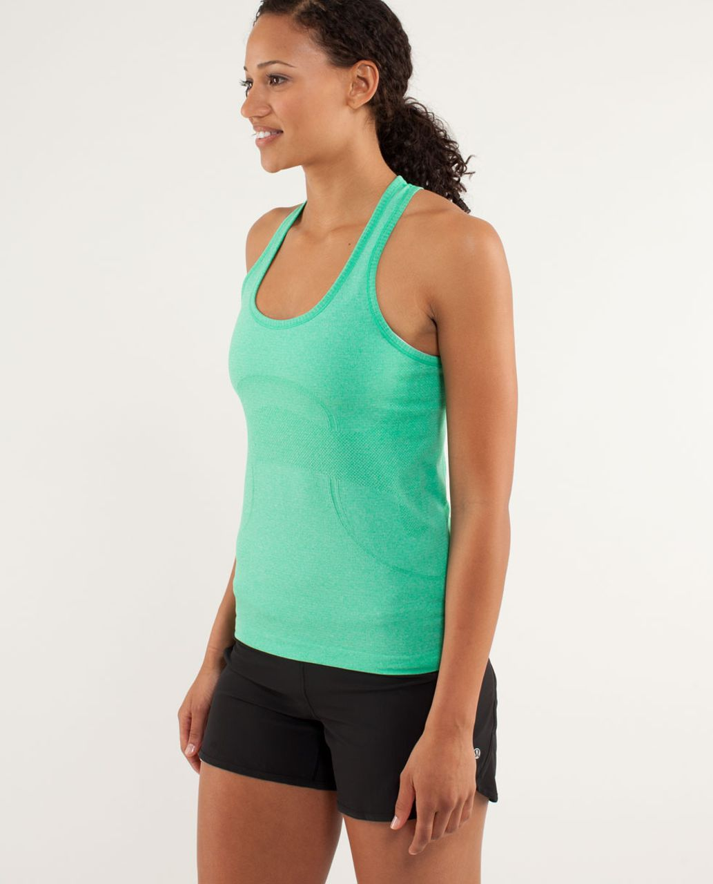 Lululemon Run:  Swiftly Tech Racerback *Shortcut - Very Green