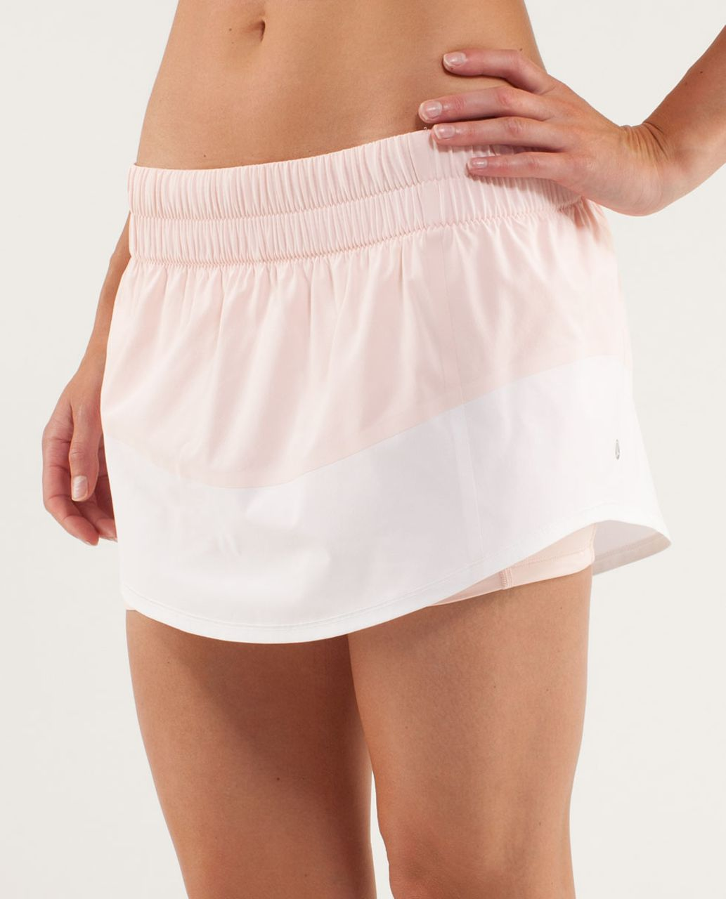 Lululemon Run:  Breeze By Skirt - Parfait Pink / White / Wee Are From Space Parfait Pink