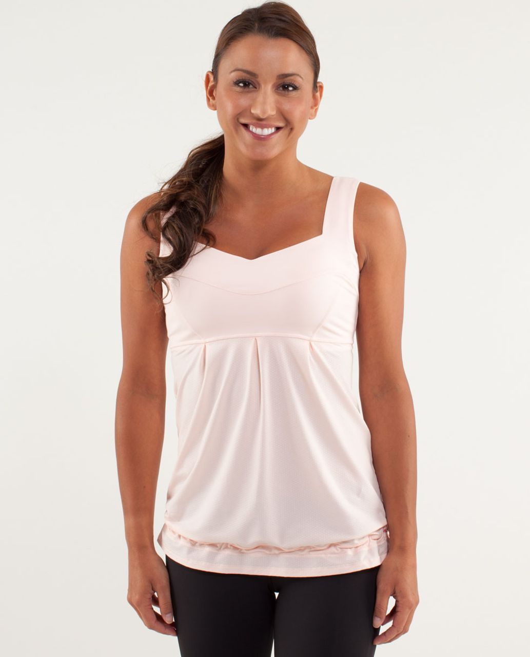 Lululemon Run:  Tame Me Tank - Parfait Pink
