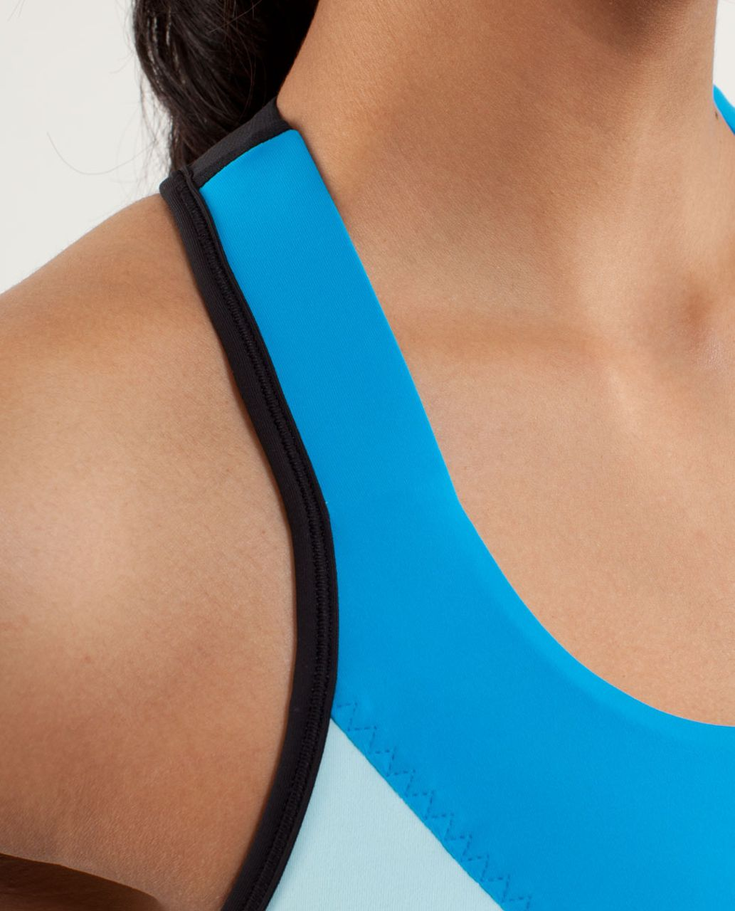 Lululemon Cardio Kick Tank - Beach Blanket Blue / Aquamarine / Black